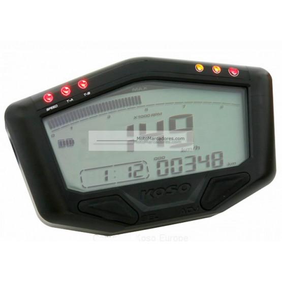 Marcador Digital KOSO DB-02 OFF ROAD auto alimentado