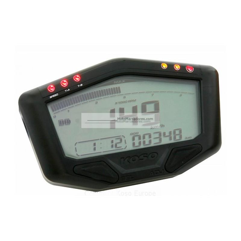 Velocimetro Digital KOSO DB-02 OFF ROAD auto alimentado con batería ...