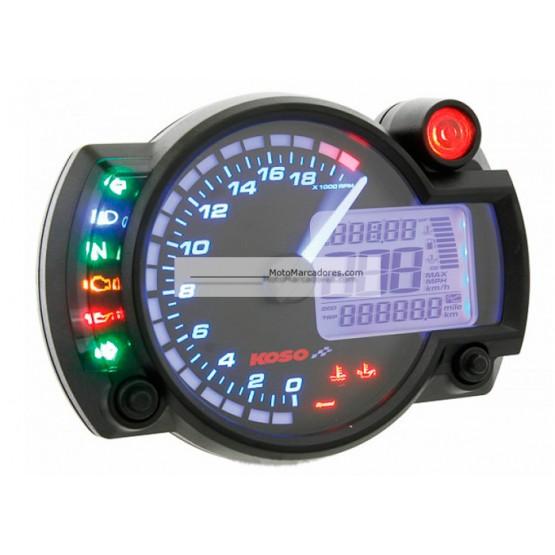 Cuadro Instrumentos KOSO RX2-N 20000 RPM Negro