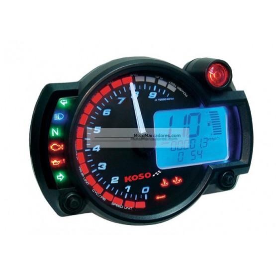 Cuadro Instrumentos KOSO RX2-N 10000 RPM Negro