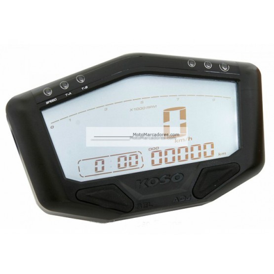 Marcador Digital KOSO DB-02 Street/Race