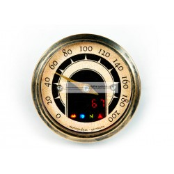 MARCADOR VELOCIMETRO MST VINTAGE PULIDO 53mm