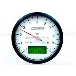 MARCADOR RPM MOTOSCOPE CLASSIC 80mm NEGRO