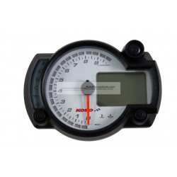 Cuadro Instrumentos KOSO RX2-N 10000 RPM Blanco