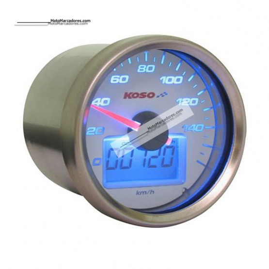 Marcador KOSO Velocimetro GP STYLE II BLANCO AZUL 160 km/h