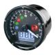 Marcador Digital CAFE RACER Universal 80mm