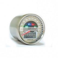 KOSO Velocimetro Multifuncion Cromado 260 km/h