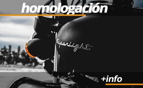 Homologación de marcadores de moto